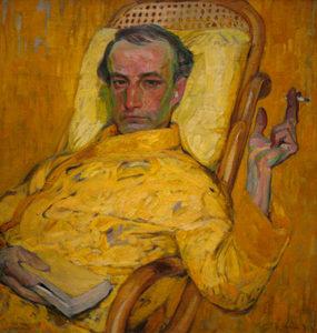 The Yellow Scale by Frantisek Kupka