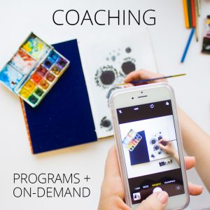 Coaching for Artists
