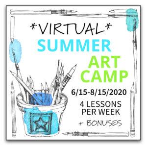 Virtual Summer Art Camp
